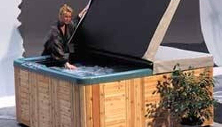 Clean a Hot Tub Cover