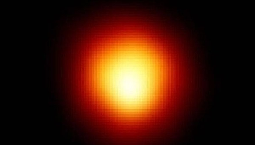 The star Betelgeuse is a red giant.