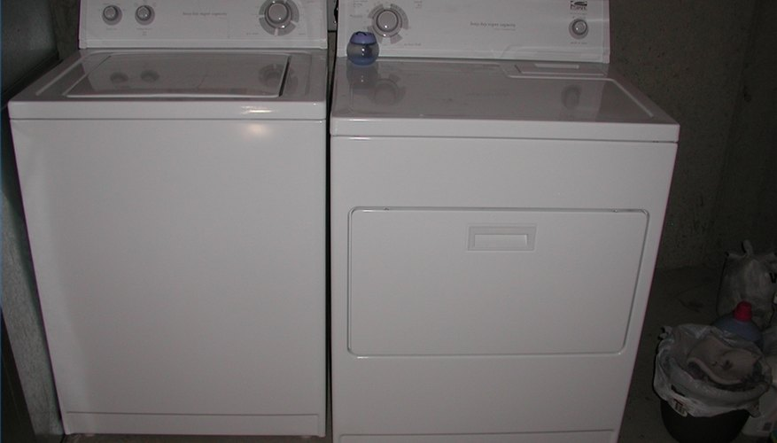you can donate old washers and dryers to charity