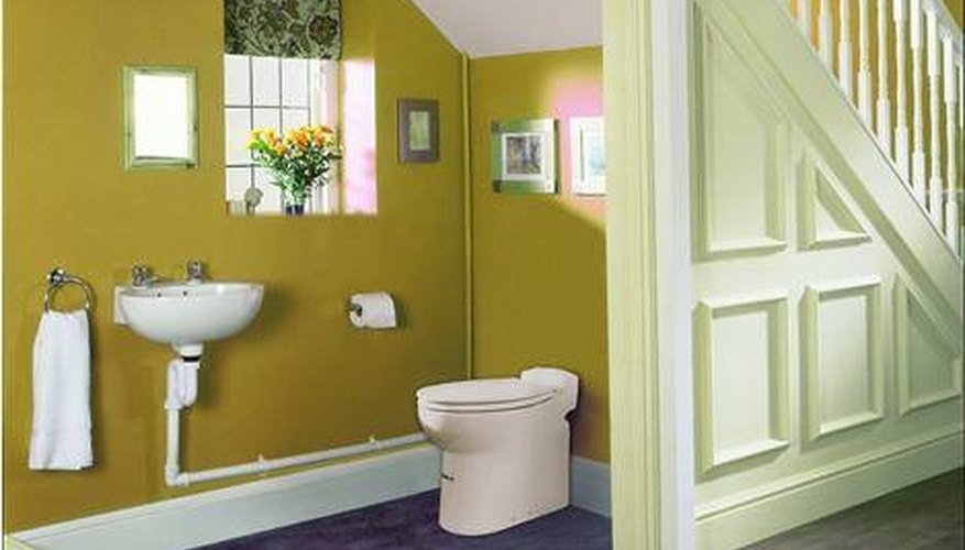 Install a Below Grade Toilet