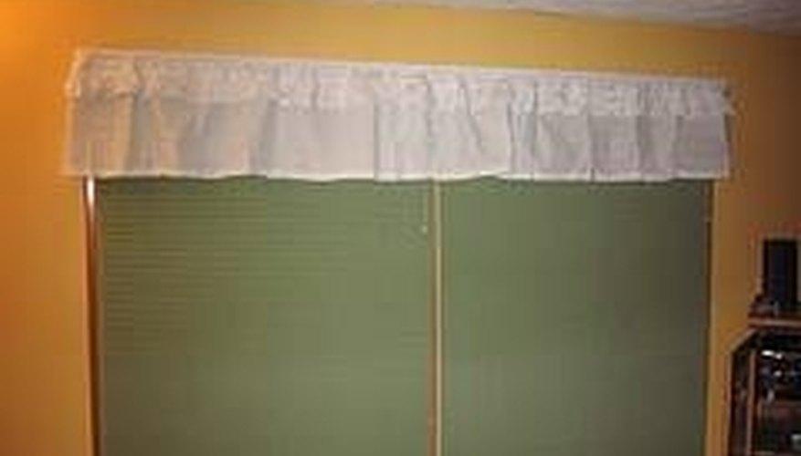 Make Valance Window Treatments
