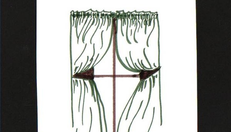 Shirred curtains
