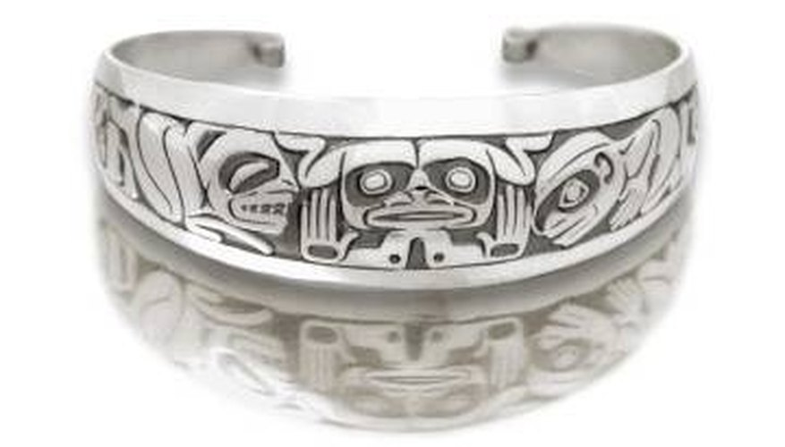 Clean Old Silver Indian Jewelry