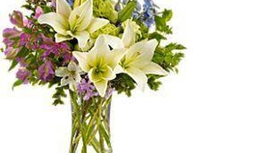 Make Flower Arrangements with Lilies