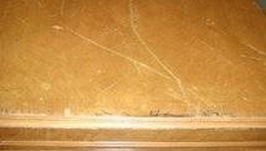 Be sure to sand your dining room table prior to painting it.