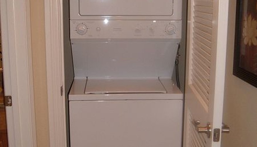 A small washer and dryer are not appropriate for a down comforter.