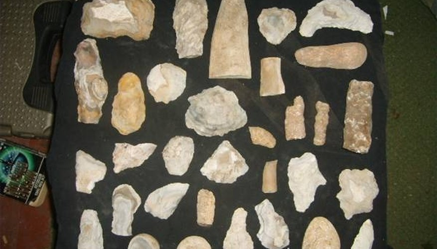 Indian artifact collection