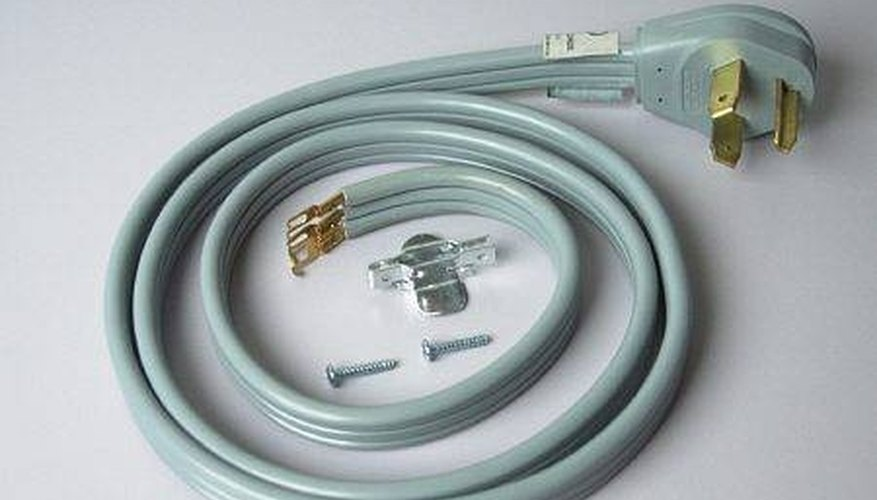 Install a Dryer Power Cord