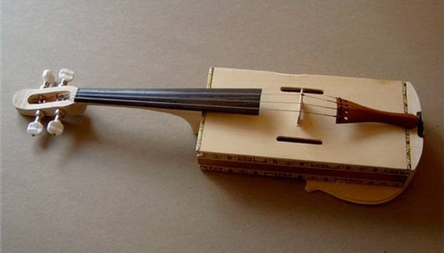 A Fancy Cigar Box Fiddle