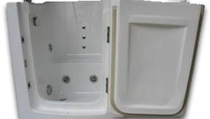 About Walk-In Tub Showers