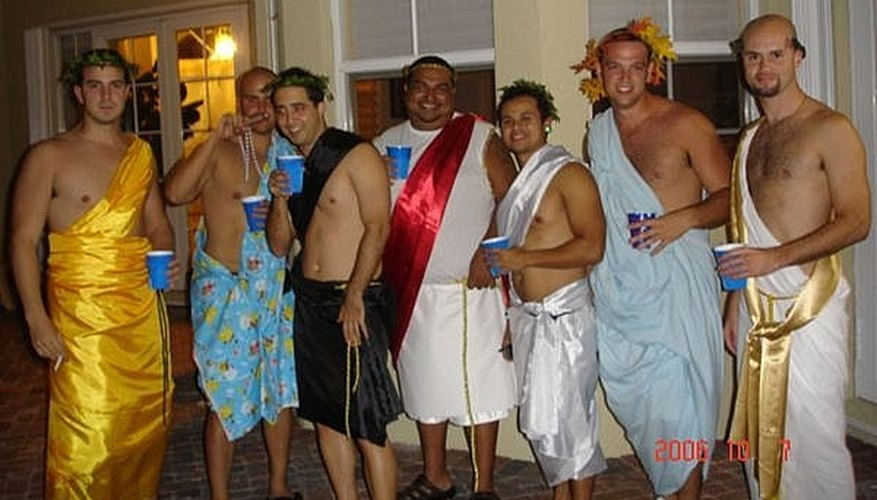 How can you not have fun in a toga costume?