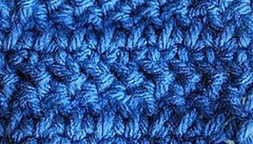 Double Crochet Herringbone