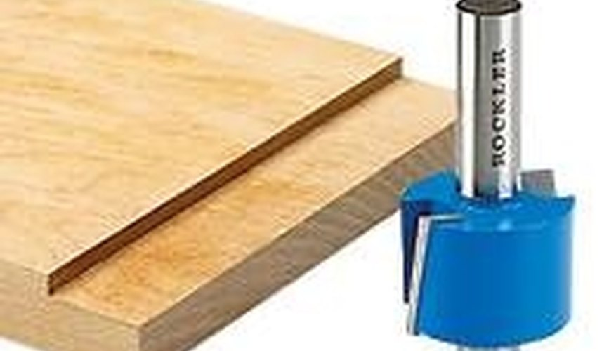 Use a Rabbeting Router Bit