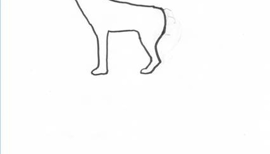 How To Draw Wolves Step By Step Our Pastimes