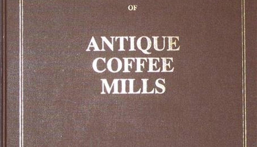 MacMillan Index of Antique Coffee Mills