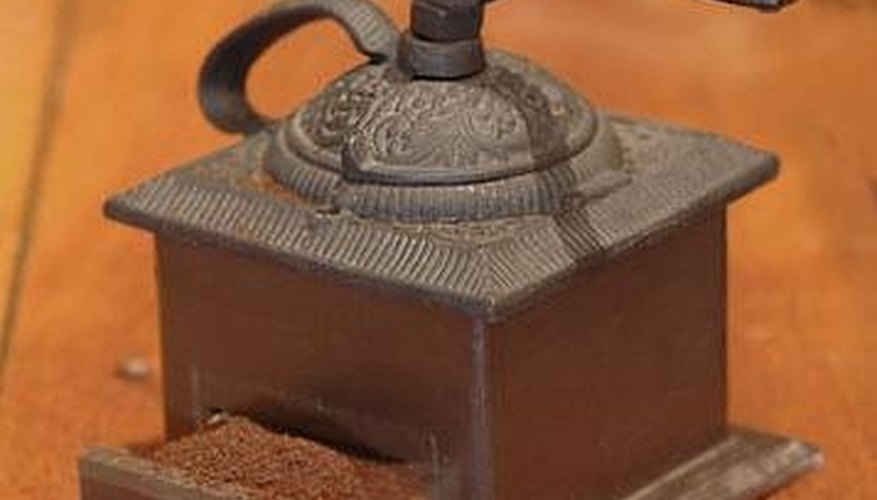 Identifying Antique Coffee Grinders