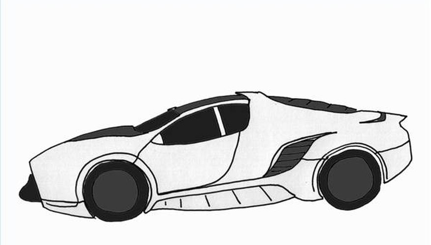 Draw a Super Car