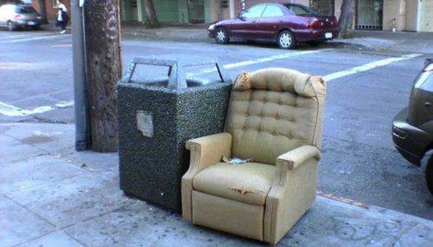 Don't throw away your old recliner!