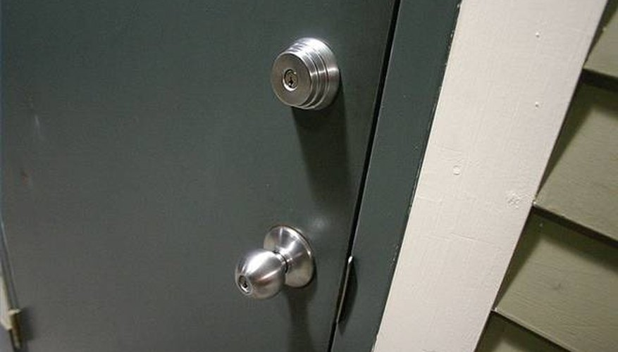 Door with Auxilary Lock