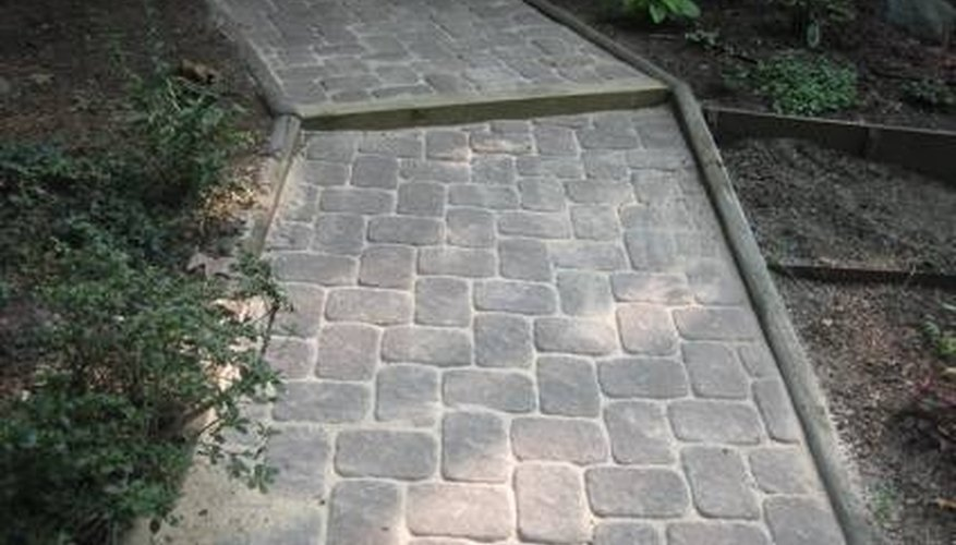 Lay Concrete Pavers