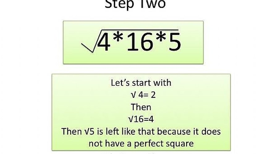Find the square root of the factors