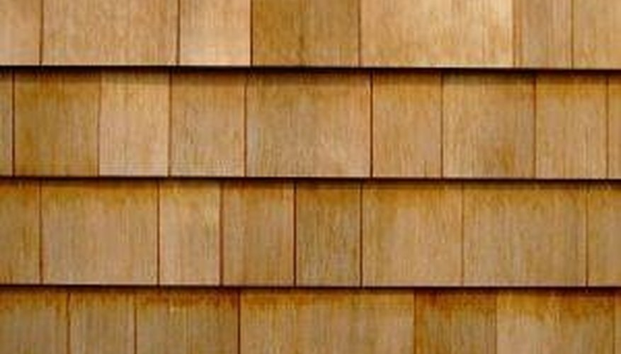 Safely Clean Wood Siding on a House