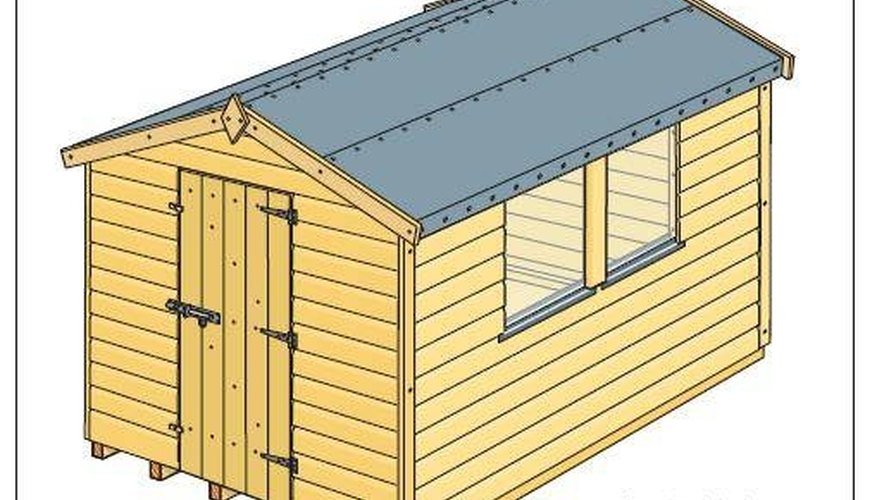 Build a Wood Shed for My Lawn Mower