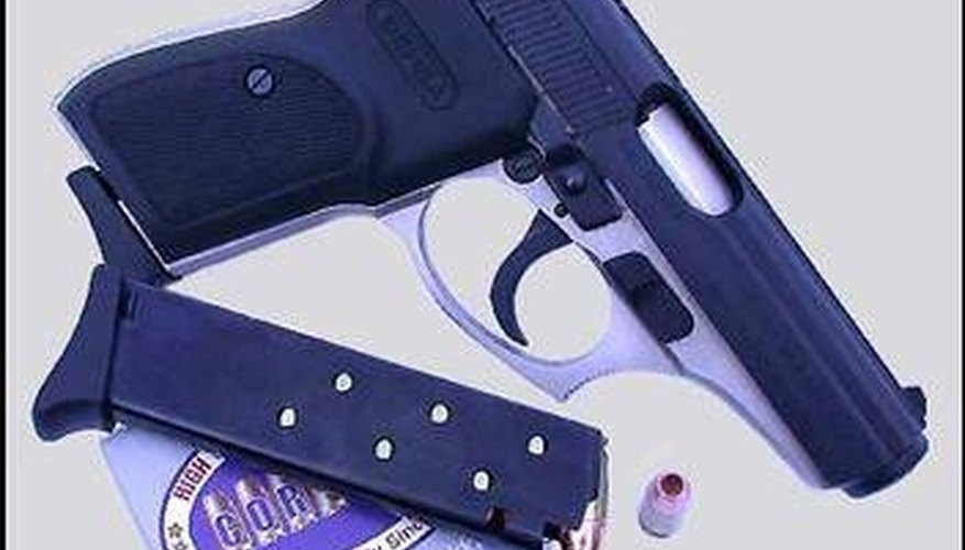 How to Disassemble a .380-Caliber Handgun