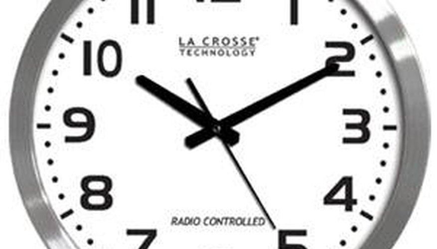 La Crosse Analog Clock