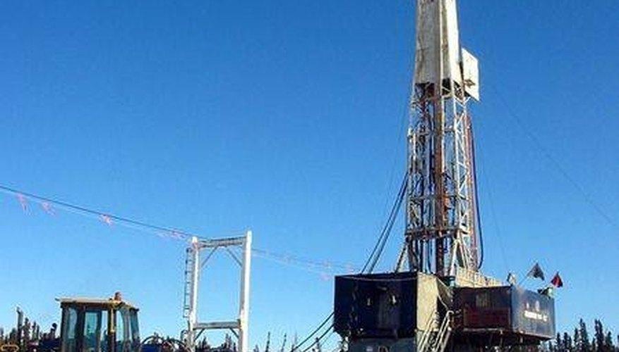 Drilling rig.