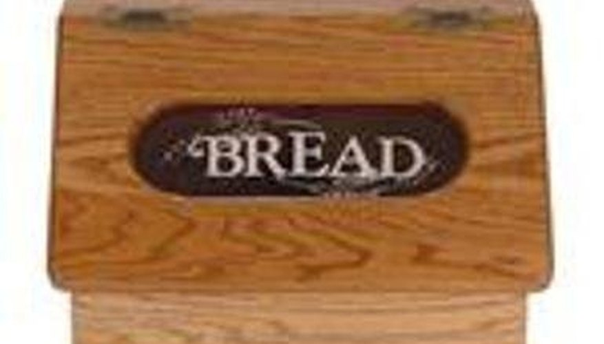 Breadbox with a special touch