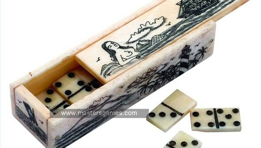 Images of the sea-faring life and its myths, like this mermaid, are traditional scrimshaw subjects.