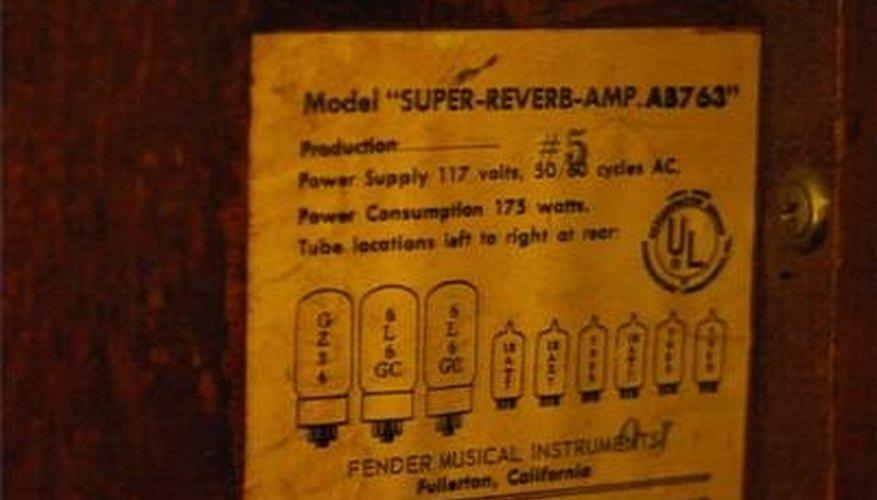 Dating Marshall amps door serienummer