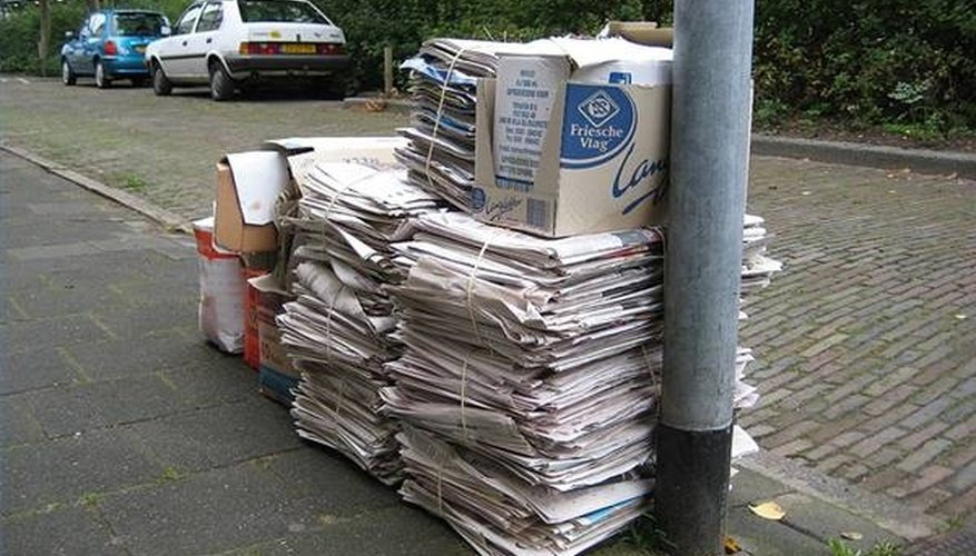 Types of Paper That Cannot Be Recycled