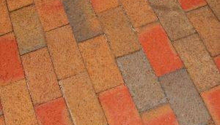 Apply Sealer to Brick Pavers