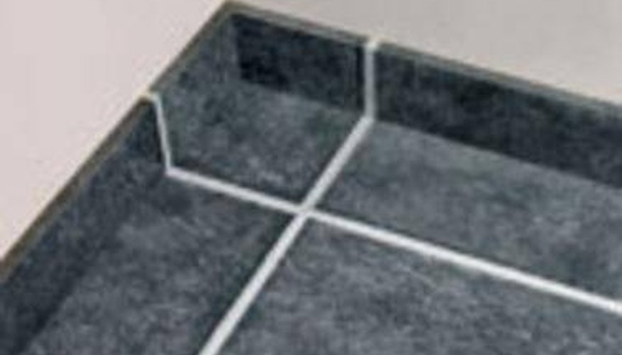 Grout lines