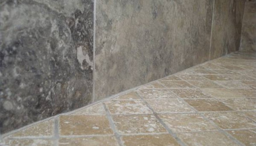 Whether fibgerlass or tile, there are products designed for repairing cracks in shower floors.