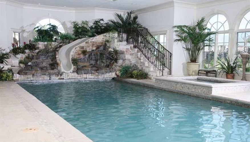 How to Design an Indoor Swimming Pool | Garden Guides