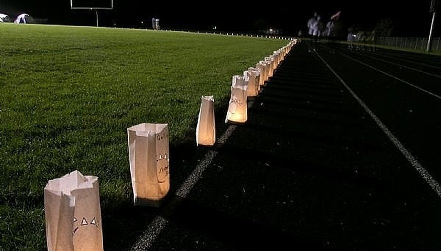 How To Sell Luminaria Bags For Relay For Life Bizfluent