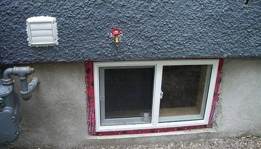Basement windows are an easy place for heat to escape.