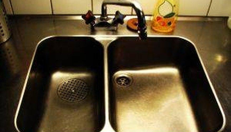 Repair Grout Around the Kitchen Sink