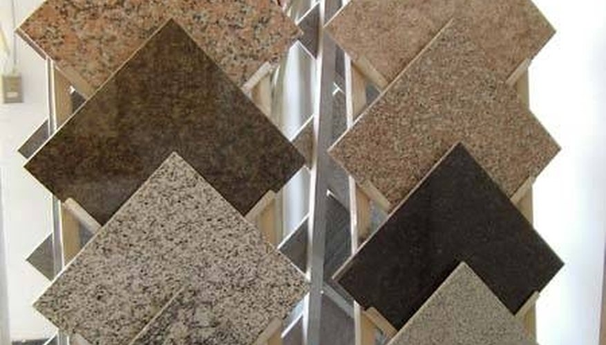 There are many selections to choose from when installing granite tile.