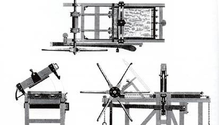 early lithography press