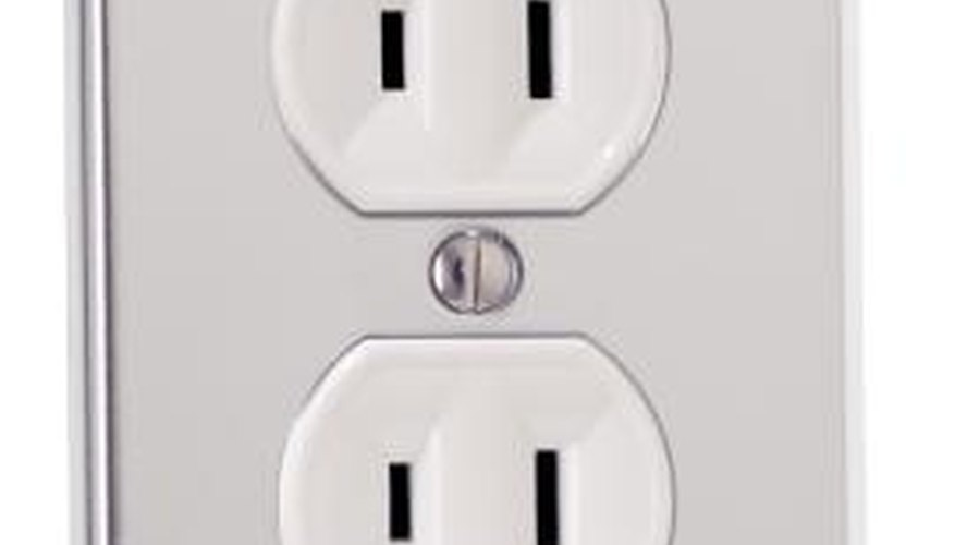 Electrical outlets and switches are drafty behind the cover plates.