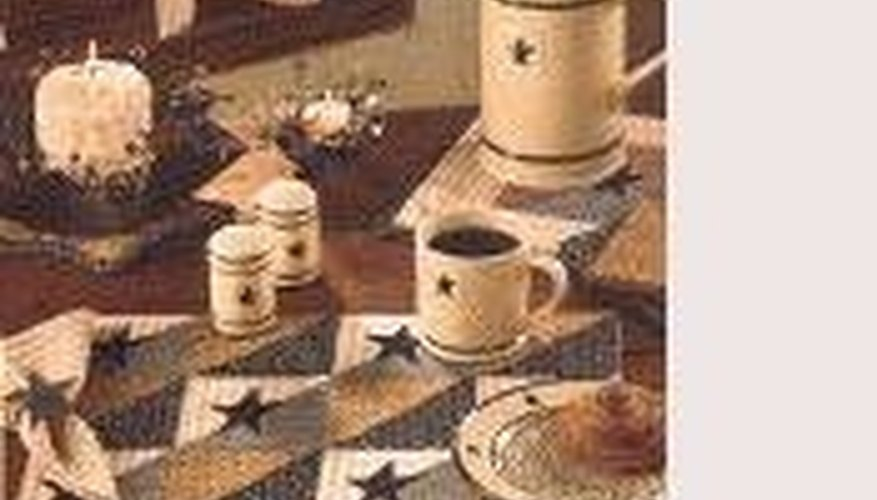 Patchwork napkins and place mats