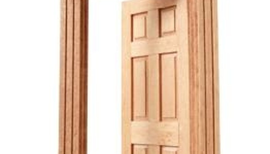 How To Stain And Clearcoat Wood Doors Moulding Trim