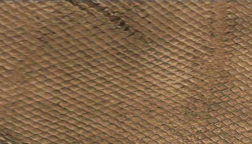 Sample of  faux snakeskin