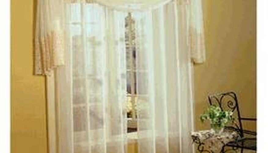 Decorate With Scarf Valances