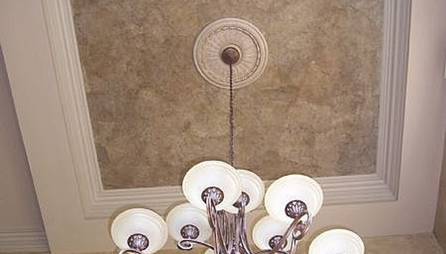 A Faux Finished Dining Room Ceiling