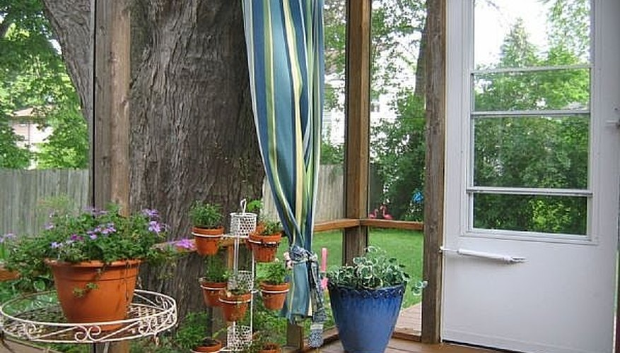 Outdoor Curtains Help Transform Your Space